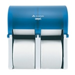 Compact® Vertical Four Roll Coreless Tissue Dispenser