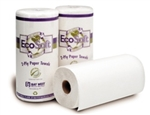 40090 EcoSoft™ Green Seal™ Household Roll Towels - 30 Rolls per case
