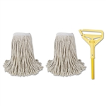 BOARDWALK COTTON CUT END MOP KIT 1 KIT