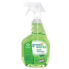 Clorox Professional Clorox Green Works™ Natural All-Purpose Cleaner, 32oz Spray - 12 Bottles per case