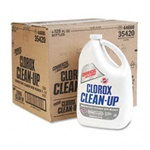 All Purpose Cleaner - Clorox Professional Clean-Up Cleaner With Bleach, 128oz Bottle - 4 Bottles per case