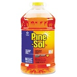 All Purpose Cleaner - Clorox Professional Pine-Sol All-Purpose Cleaner, Orange Scent, 144oz. Bottle - 3 Bottles per case