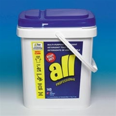 Laundry Detergent - ALL Ultra Powder MultiPurpose Detergent - 17lb. Pail