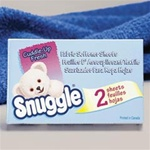 Diversey Snuggle® Fabric Softener Sheets - 100 Boxes per case