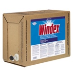 Glass Cleaner - Diversey Windex® 5-gallon bag-in-box dispenser