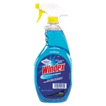 Glass Cleaner - Diversey Windex® Ready-to-Use Glass Cleaner 32 oz Trigger - 12 bottles per case