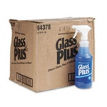 Glass Cleaner - Glass Plus 32 oz Trigger - 12 bottles per case