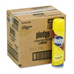 Furniture Care - Pledge Lemon Furniture Polish 12oz - 12 cans in ctn.