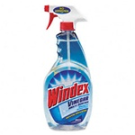 Glass Cleaner - Windex 32oz Multi-Task with Vinegar - 8 bottles per case