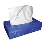 White Facial Tissue 100 Sheet Box - 30 Boxes per case