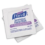 Wipes - Purell Hand Sanitizer Towelette  | Case Pack 1000