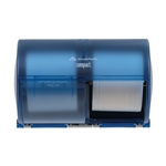 GP Compact® Splash Blue Side-By-Side Double Roll Bathroom Tissue Dispenser