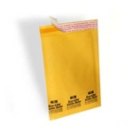 "6""X10"" (No. 0) Kraft Self-Seal Bubble Mailers 