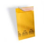 "10 1/2"" x 16"" (No. 5) Kraft Self-Seal Bubble Mailers 