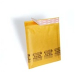 "14 1/4"" x 20"" (No. 7) Kraft Self-Seal Bubble Mailers 