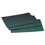 3/M COMMERCIAL GREEN SCOURING PADS
