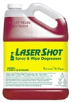 323RTU LaserShot® Spray & Wipe Degreaser - 12/32oz.