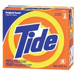 Laundry Detergent - Procter & Gamble Tide® Laundry Detergent Powder - 15 Boxes per Case