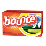 Procter & Gamble Bounce® Fabric Softener Sheets - 6 Boxes per Case