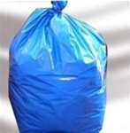 Blue PolyLiner, 22X14X50, 1.1 Mil, Blue, Heavy Grade, 40 to 45 Gallon Capacity