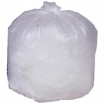White Kitchen Bag, 15X9X31, 1.2 Mil, Heavy Grade, 15 Gallon Capacity, 200/CS