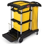 Rubbermaid 9T73 HYGEN™ Microfiber Cleaning Cart