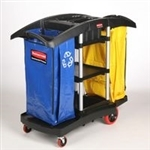 Rubbermaid 9T79 Double Capacity Cleaning Cart