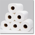 HouseHold Kitchen Roll Towel 85/Sht - 30 Rolls per case