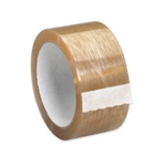 2 in. x 55 yds. Clear PVC Tape | Case Pack-(36 Rolls per case)
