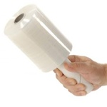 "Stretch Wrap 5""x1000' Roll with Extended Core Handle  